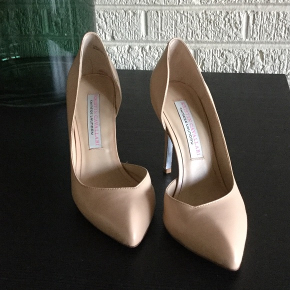 Chinese Laundry Shoes - Kristin Cavallari Nude d'Orsay Pumps